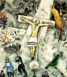 Chagalls White Crucifiction