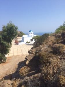 På vandringsleden mellan Thira och Oia.